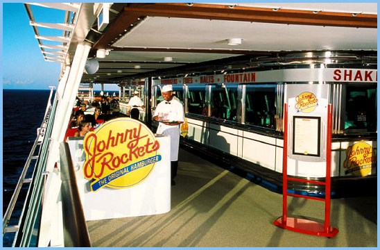 Adventure Of The Seas Johnny Rockets