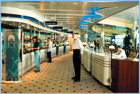Adventure of the Seas Windjammer Cafe