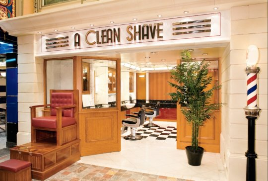 Freedom of The Seas Clean Shave Onboard Barber Shop