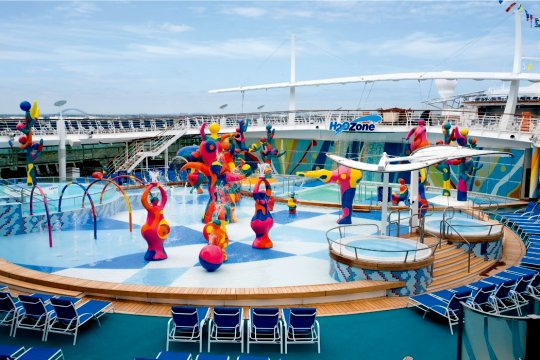 Freedom of The Seas H2O Fun Zone
