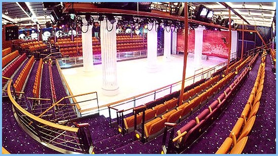 Adventure of the Seas Studio B & Ice Skating Rink