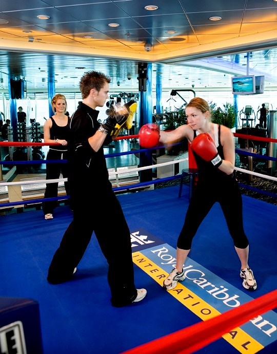 Freedom of The Seas Boxing Ring