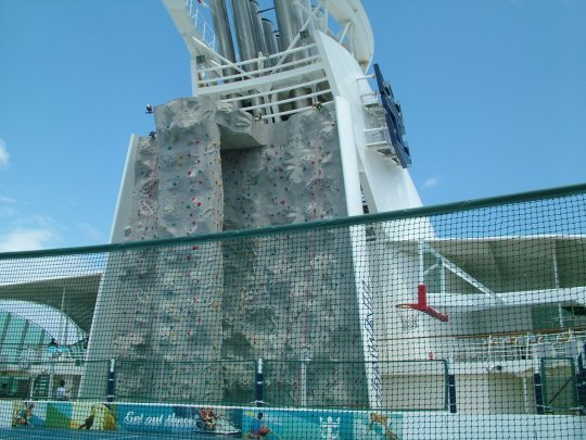 Freedom of The Seas Rock Climbing Wall